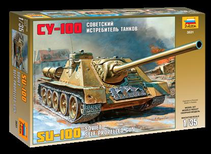 Звезда: 3531 Советский истребитель танков СУ-100