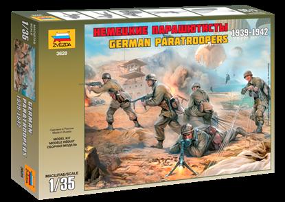 Звезда: 3628 Немецкие парашютисты 1939-1942