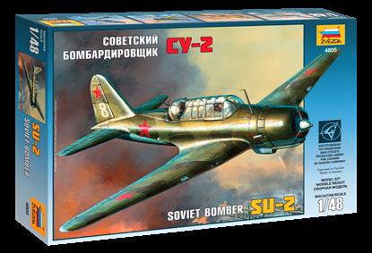 """Звезда: 4805 Советский бомбардировщик """"Су-2"""""""