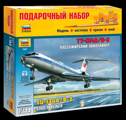 "Авиалайнер ""Ту-134 А/Б-3"". ПН 7007ПН. Звезда"