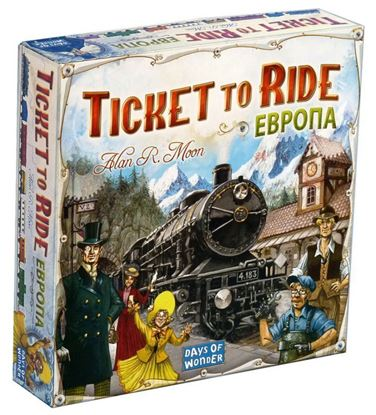 HobbyWorld: Ticket to Ride: Европа (новая версия)