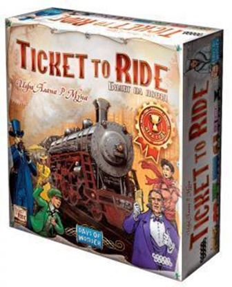 Изображение HobbyWorld: Ticket to Ride: Америка