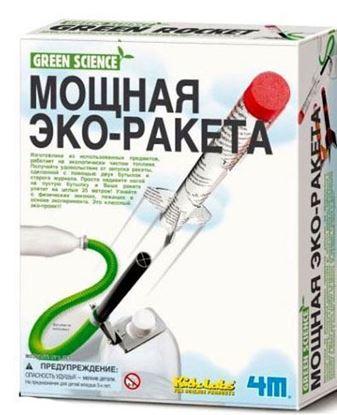 Изображение Green Science 4M: Мощная эко-ракета