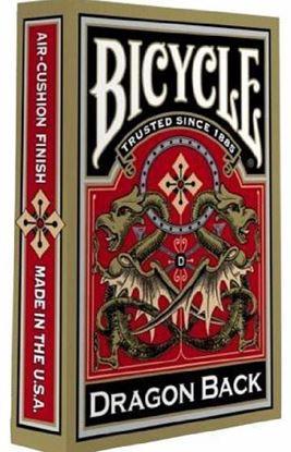 Изображение Bicycle: Dragon Back 54 шт, пласт покр