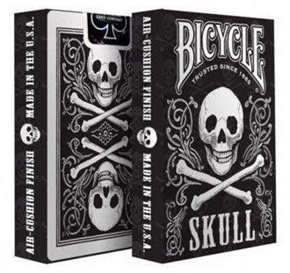 Изображение Bicycle: Skull 54 шт, пласт покр