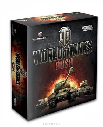 Изображение HobbyWorld: World of Tanks Rush (2-е изд.без танк)