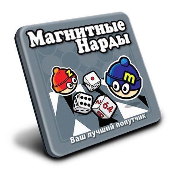 Изображение MACK&ZACK: Магнитная игра МТ001 Нарды