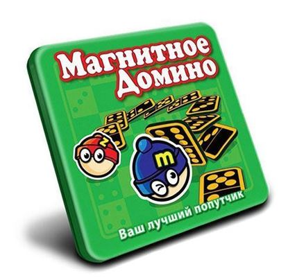 Изображение MACK&ZACK: Магнитная игра МТ010 Домино