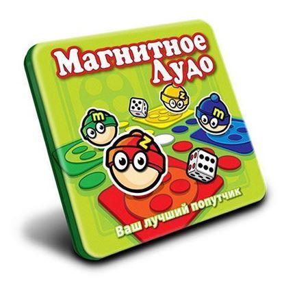 Изображение MACK&ZACK: Магнитная игра МТ014 Лудо