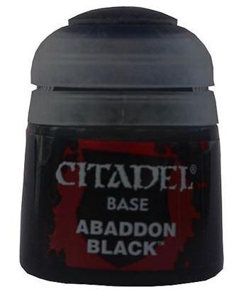 Изображение Краски Citadel: (Paint Pot: Abbaddon Black)