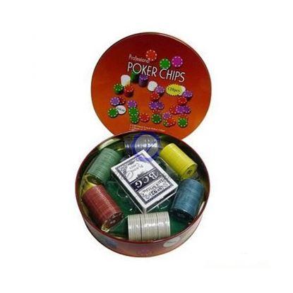 Изображение Покер 120 шт, метал. коробка, 7 гр. PokerStars
