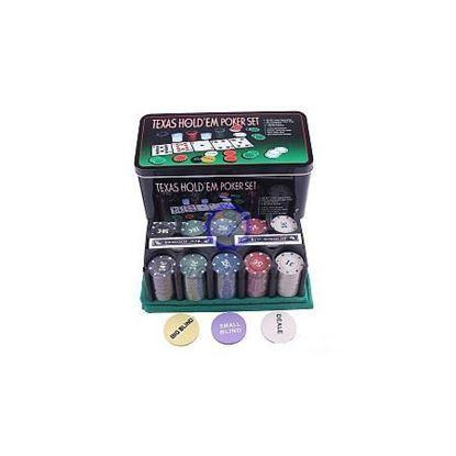 Изображение Покер 200 шт, метал. коробка, 7 гр. PokerStars