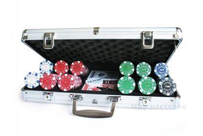 Изображение Покер 300 шт, метал. кейс, 11,5 гр. PokerStars