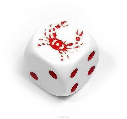 Изображение Непрозрачный кубик d6 Эксклюзив