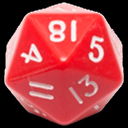 Изображение Непрозрачный кубик d18 в ассортименте