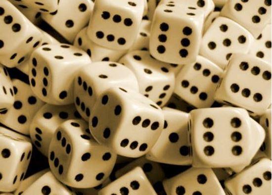 Изображение Непрозрачный кубик d6 в ассортименте
