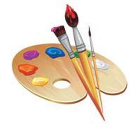 Изображение для категории Кисти, краски, клей