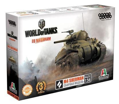 Изображение World of Tanks: M4 SHERMAN. Масштабная модель 1:5