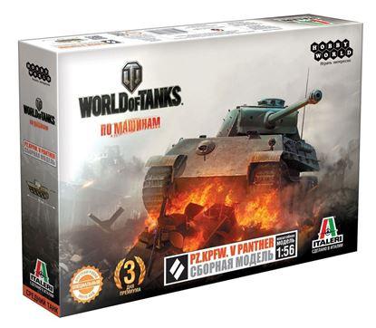 Изображение World of Tanks: Pz.Kpfw. V PANTHER. Масштабная мод