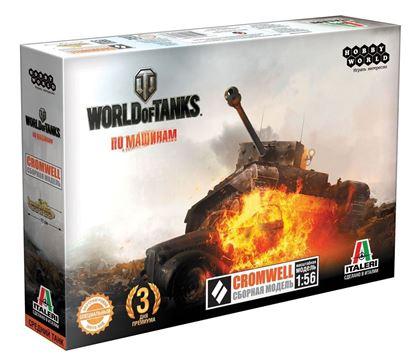 Изображение World of Tanks: CROMWELL. Масштабная модель 1:56 (