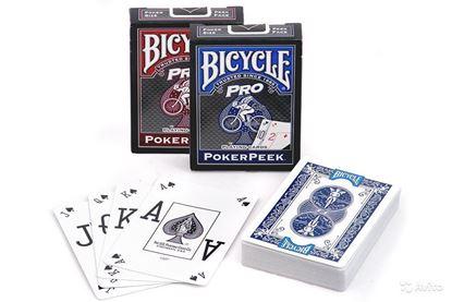 Изображение Bicycle: Pro PokerPeek 54 шт, пласт покр
