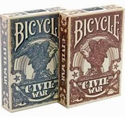 Изображение Bicycle: Civil War 54 шт, пласт покр