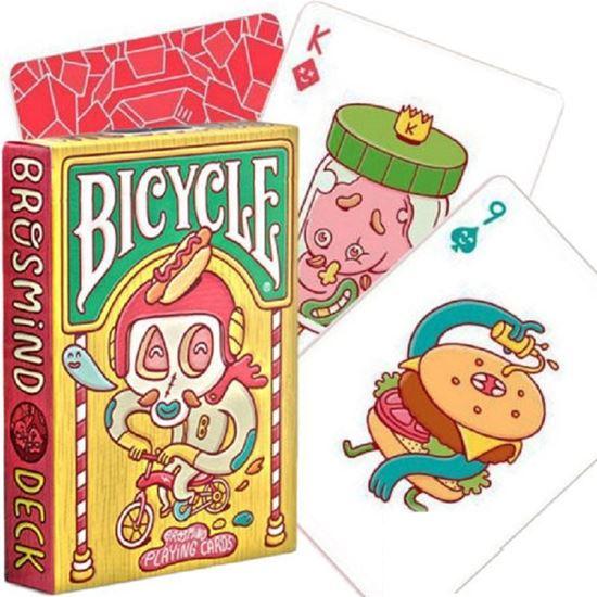 Изображение Bicycle: Brosmind deck 54 шт, пласт покр