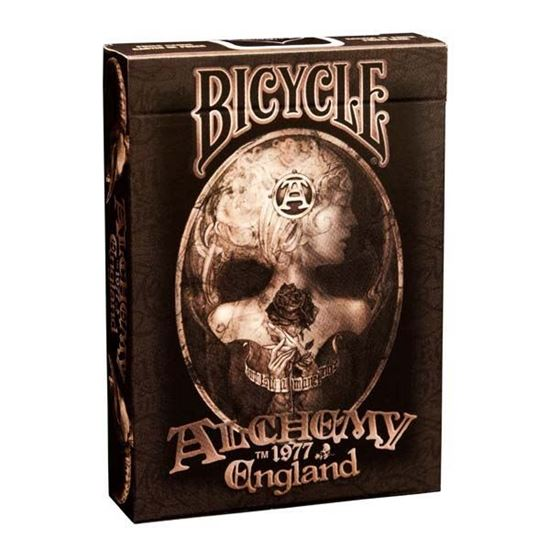 Изображение Bicycle: Alchemy England 54 шт, пласт покр