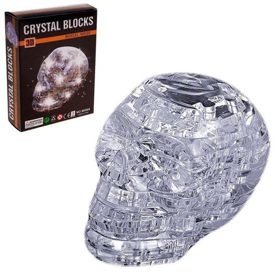 """Изображение Crystal Puzzle: Головоломка 3D """"Череп со светом"""" а"""
