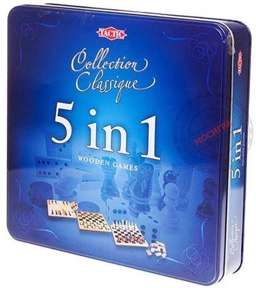 Изображение Подарочный набор. 5 игр в 1 шкатулке. Tactic