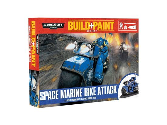 Изображение GW Space Marine Build+Paint Bike Attack
