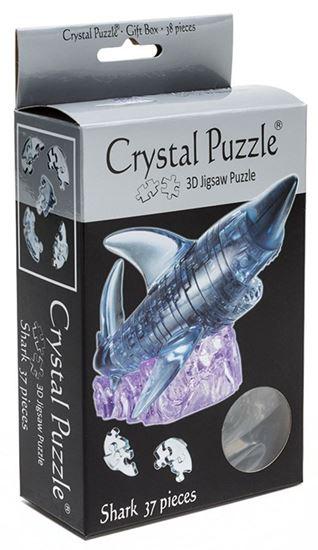 "Изображение Crystal Puzzle: Головоломка 3D ""Акула"" арт.9060А"