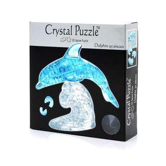 """Изображение Crystal Puzzle: Головоломка 3D """"Дельфин"""" на подста"""