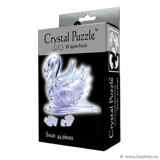 """Изображение Crystal Puzzle: Головоломка 3D """"Лебедь"""" L арт.9004"""