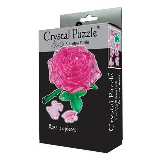 "Изображение Crystal Puzzle: Головоломка 3D ""Роза"" L арт.29027"
