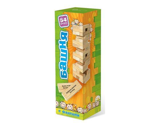 Изображение Нескучные игры: Башня 54 дет с заданиями для детей