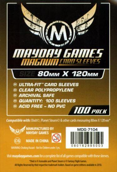 Изображение Mayday: Протекторы оранжевые 80 шт (63,5мм*88мм):
