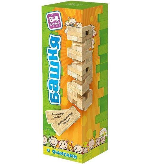 Изображение Нескучные игры: Башня 54 дет в карт короб  дерево