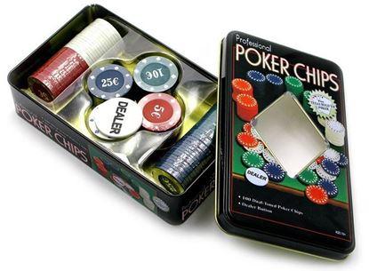 Изображение PokerStars: Покер 100 метал коробка 7 гр.