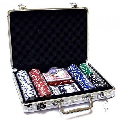 Изображение Покер 200 шт, метал. кейс, 11,5 гр. PokerStars