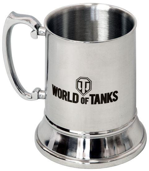 Изображение World of Tanks: Кружка металлическая с гравировкой