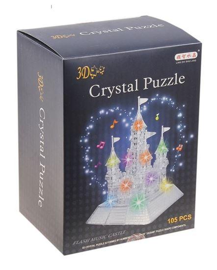 """Изображение Crystal Puzzle: Головоломка 3D """"Замок"""" со светом и"""