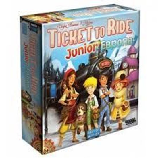 Изображение HobbyWorld: Ticket to Ride Junior: Европа