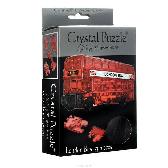 """Изображение Crystal Puzzle: Головоломка 3D """"Автобус"""" арт.9062"""