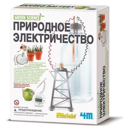 Изображение Green Science 4M: Природное электричество