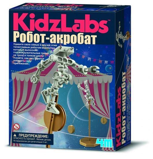 Изображение Green Science 4M: Робот акробат
