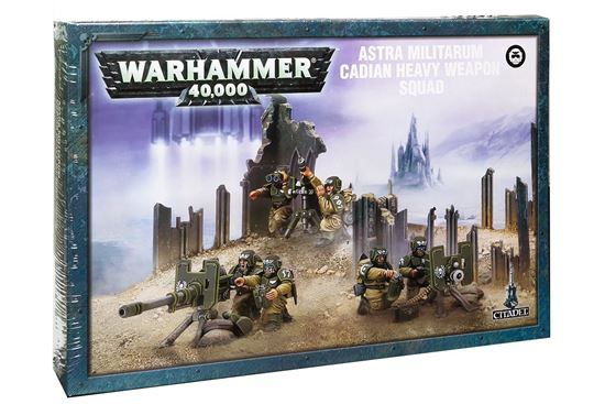 Изображение GW Astra Militarum Cadian Heavy Weapon Squad