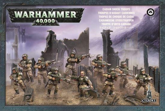 Изображение GW Astra Militarum Cadian Infantry Squad
