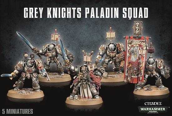 Изображение GW Grey Knights Paladin Squad