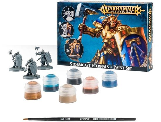 Изображение GW Stormcast Eternals + Paint Set